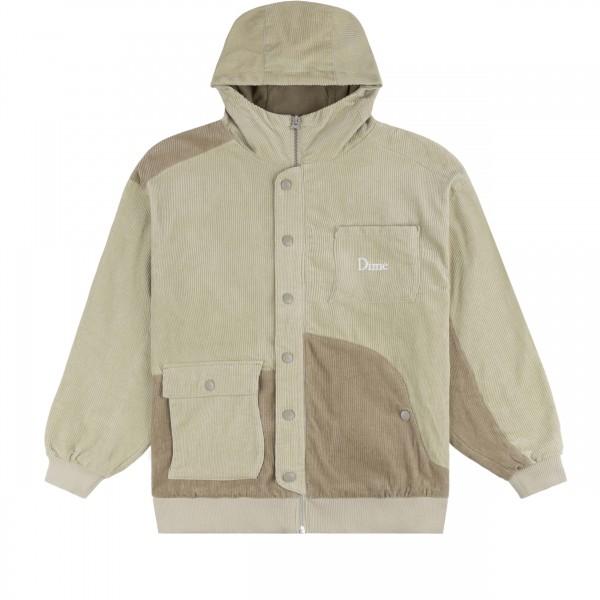 Dime Corduroy Hooded Jacket (Tan)