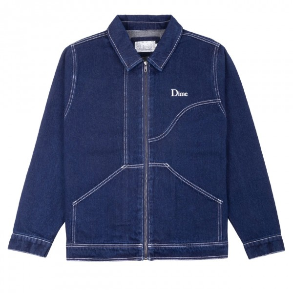 Dime Denim Chore Jacket (Raw Dark Indigo)