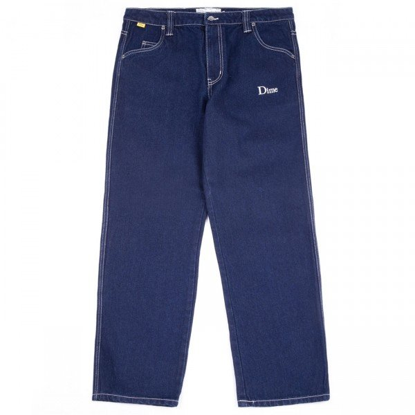 Dime Denim Pant (Raw Indigo)