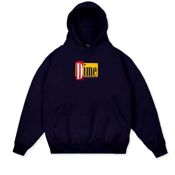 Dime Diner Pullover Hooded Sweatshirt (Navy)