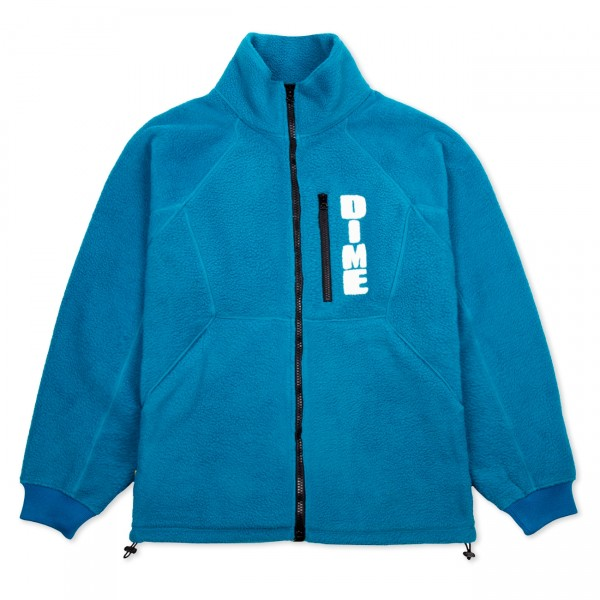 Dime Hi Pile Sherpa Fleece Jacket (Teal)