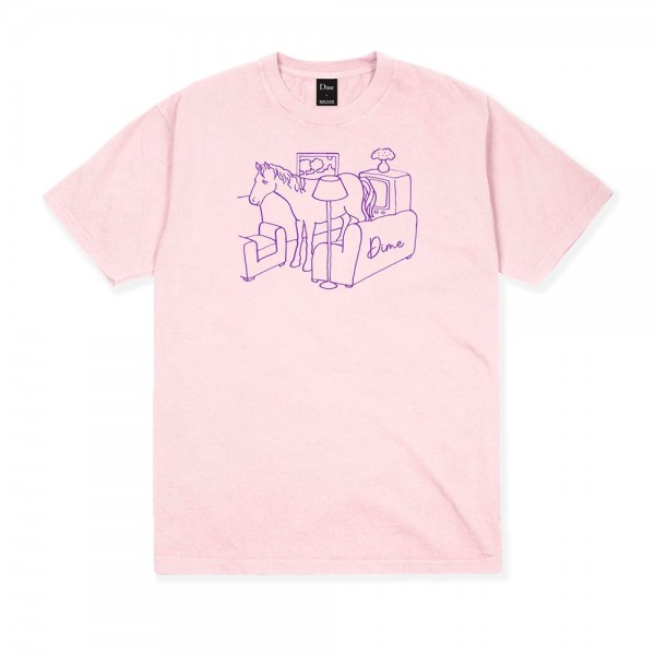 Dime Horse T-Shirt (Pink)