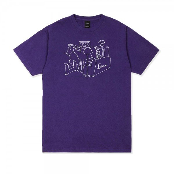 Dime Horse T-Shirt (Purple)