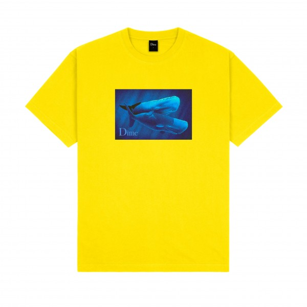 Dime Hug T-Shirt (Yellow)