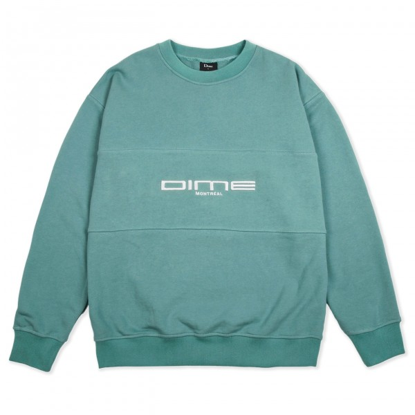 Dime Montreal French Terry Crew Neck Sweatshirt (Teal)
