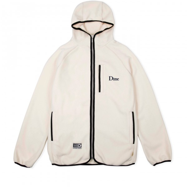 Dime Polar Fleece Hooded Jacket (Cream)