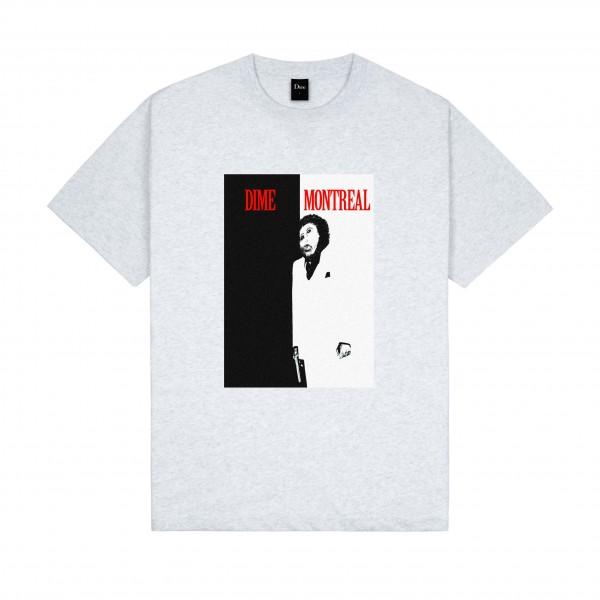 Dime Restoration Face T-Shirt (Ash)