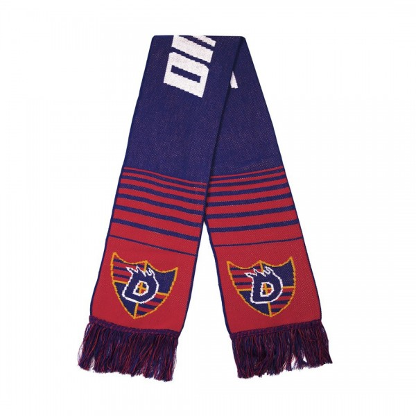 Dime Scarf (Blue/Red)