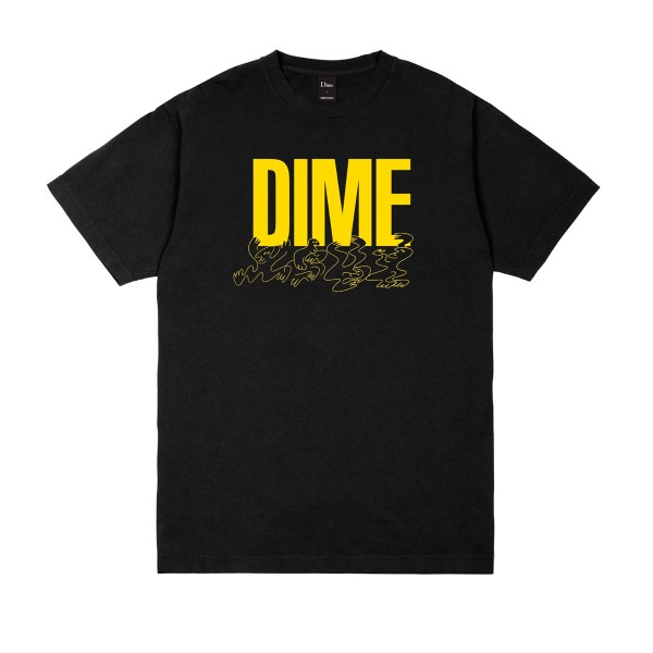 Dime Support T-Shirt (Black)