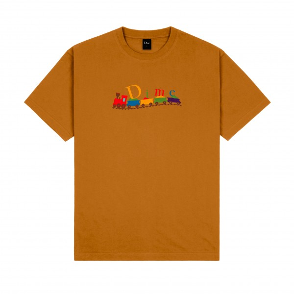 Dime Train Classic T-Shirt (Coffee)