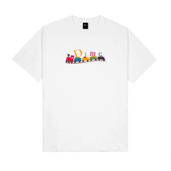 Dime Train Classic T-Shirt (White)