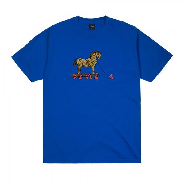Dime Trojan T-Shirt (Cobalt)