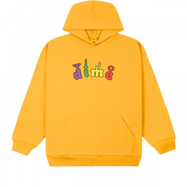Dime Tubs Pullover Hooded Sweatshirt (Dark Yellow)