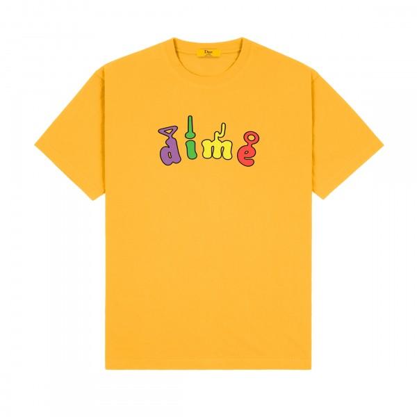 Dime Tubs T-Shirt (Dark Yellow)