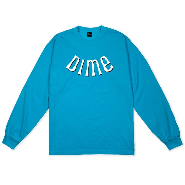 Dime Whirl Long Sleeve T-Shirt (Dark Teal)