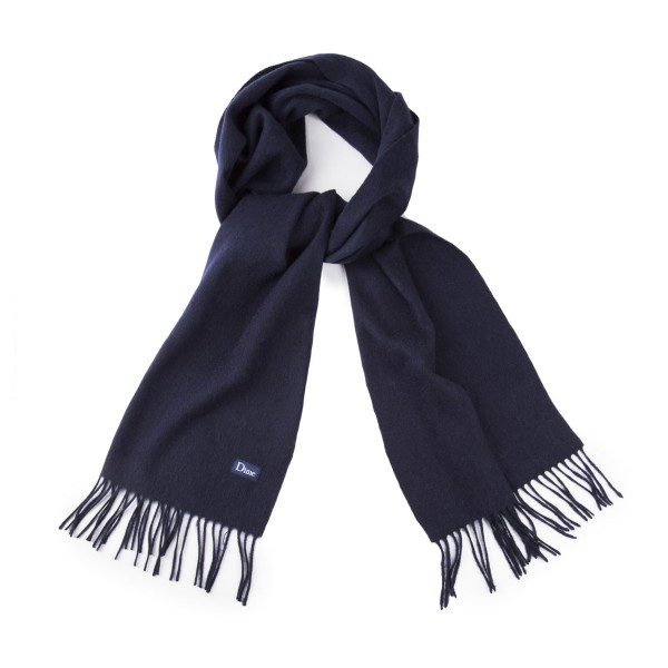 Dime Cashmere Scarf (Navy)