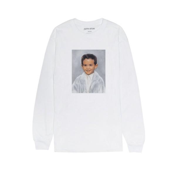 Fucking Awesome Dylan Long Sleeve T-Shirt (White)