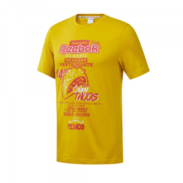 Reebok Classics International Tacos T-Shirt (Urban Yellow)
