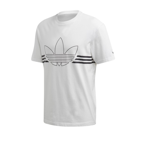 adidas Originals Outline T-Shirt (White)