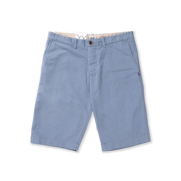 Edwin Rail Bermuda French Twill Shorts (Light Stone Washed)