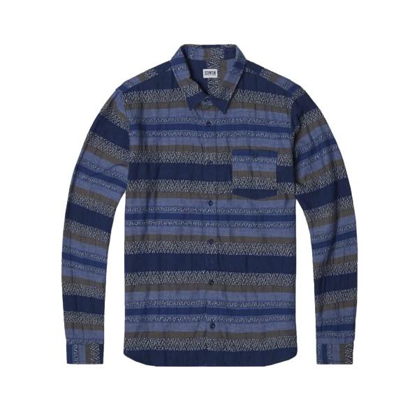 Edwin Simple Shirt (Indigo Garment Washed)