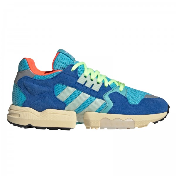 adidas Originals ZX Torsion (Bright Cyan/Linen Green/Blue)