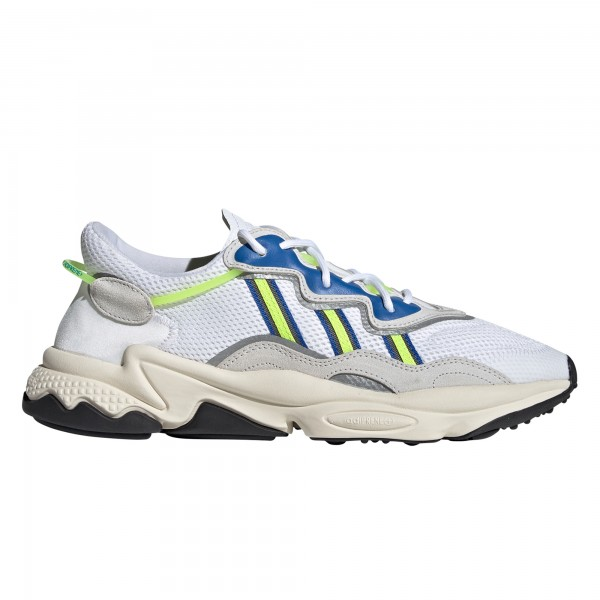adidas Originals Ozweego (Footwear White/Grey One/Solar Yellow)