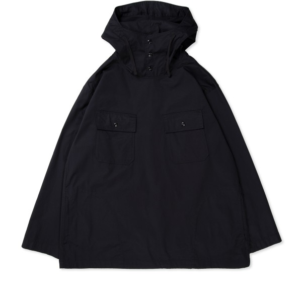 Engineered Garments Cagoule Shirt (Black Highcount Twill)