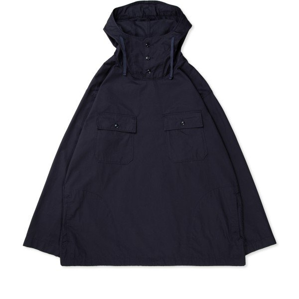 Engineered Garments Cagoule Shirt (Dark Navy Highcount Twill)