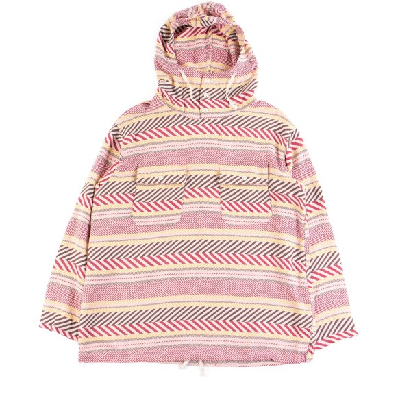 Engineered Garments Cagoule Shirt (Multi Colour Horizontal Cotton Jacquard)