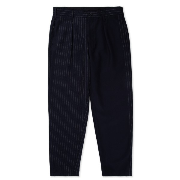Engineered Garments Carlyle Pant (Dark Navy Wool Chalk Stripe)