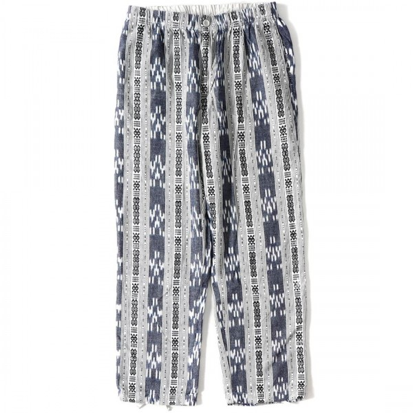 Engineered Garments Charles Pant (Grey/White Cotton Small Ikat)