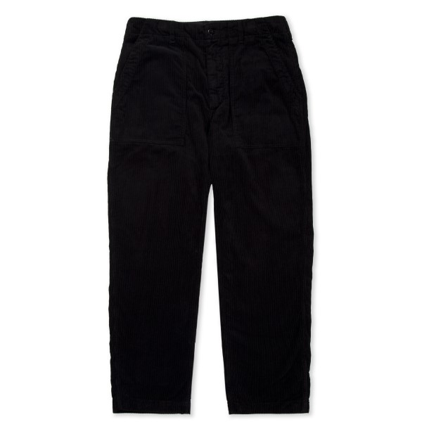 Engineered Garments Fatigue Pant (Black Cotton 8W Corduroy)