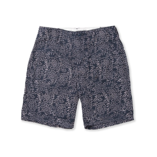 Engineered Garments Fatigue Short (Navy Paisley Twill)