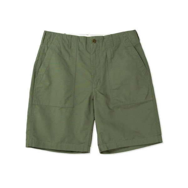 Engineered Garments Fatigue Short (Olive Cotton Ripstop)