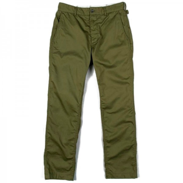 Engineered Garments Ground Pant (Olive 7oz Cotton Twill)