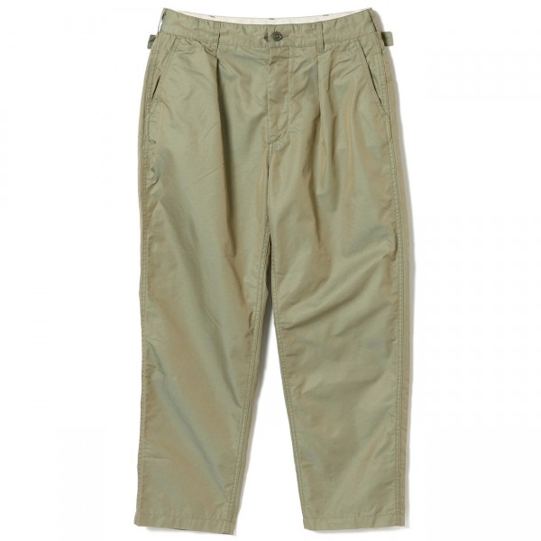 Engineered Garments Ground Pant (Olive PC Iridescent Twill)