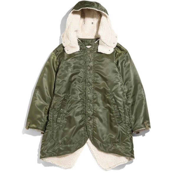 Engineered Garments Liner Jacket (Olive Drab Polyester Pilot Twill)