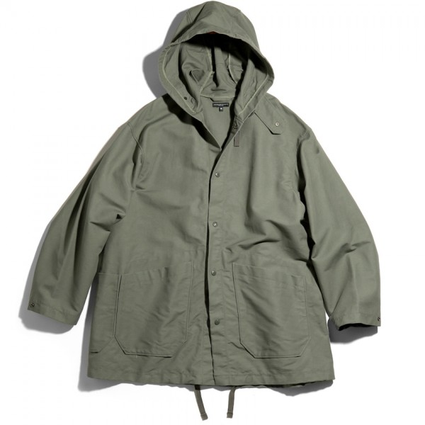 Engineered Garments Madison Parka (Olive Cotton Double Cloth)