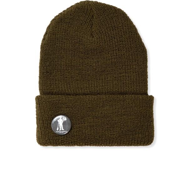 Engineered Garments Wool Watch Cap (Olive)