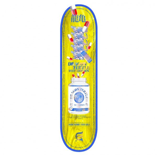 "Evisen Skateboards Koichiro Uehara Skateboard Deck 7.8"""