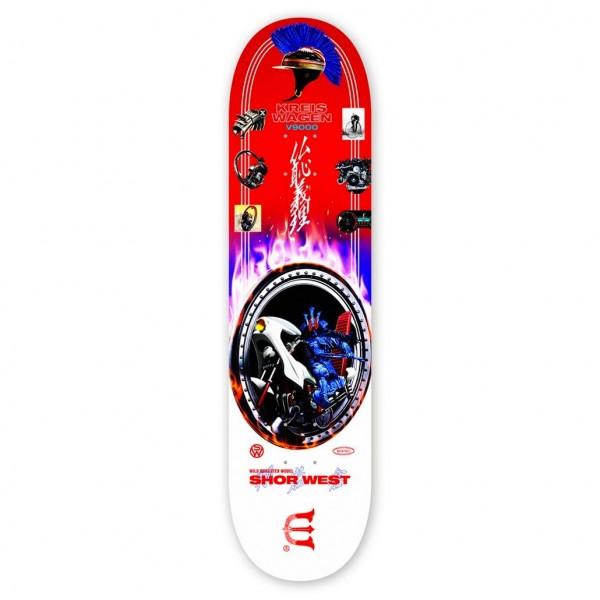 """Evisen Skateboards Shor West Skateboard Deck 8.0"""""""