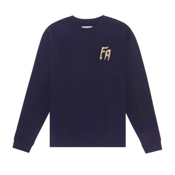 Fucking Awesome FA Crew Neck Sweatshirt (Navy)