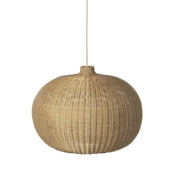 ferm LIVING Braided Belly Lampshade (Natural)