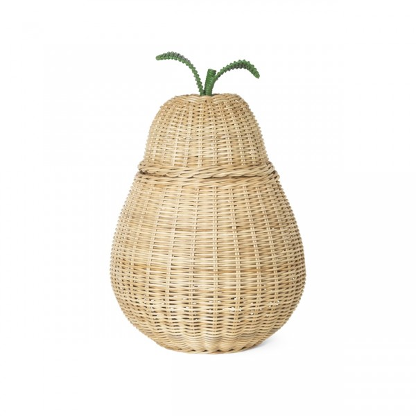ferm LIVING Pear Braided Storage Basket (Natural)