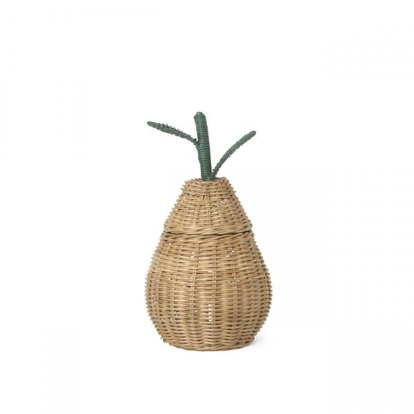 ferm LIVING Pear Braided Storage Basket (Small)