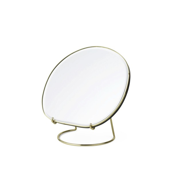 ferm LIVING Pond Table Mirror (Brass)
