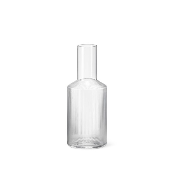 ferm LIVING Ripple Carafe (Clear)