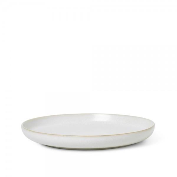 ferm LIVING Sekki Plate Large (Cream)