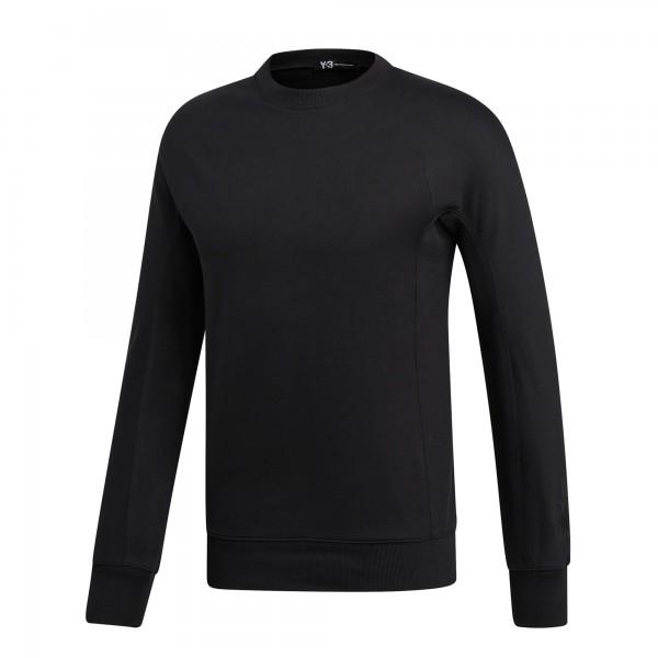 adidas Y-3 Classic Crew Neck Sweatshirt (Black)